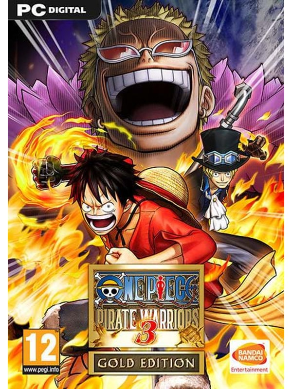 One Piece Pirate Warriors 3 Gold Edition - Windows - Action 796280