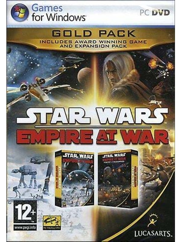 Star Wars Empire at War Gold Pack - Windows - Strategi 791541