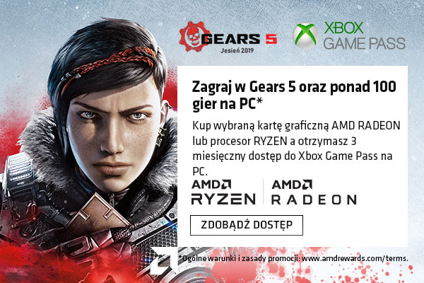 AMD XBOX GAME PASS BUNDLE - GEAR 5