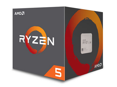 AMD Ryzen 5 2600 with Wraith Stealth