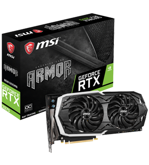 MSI GeForce RTX 2070 ARMOR OC