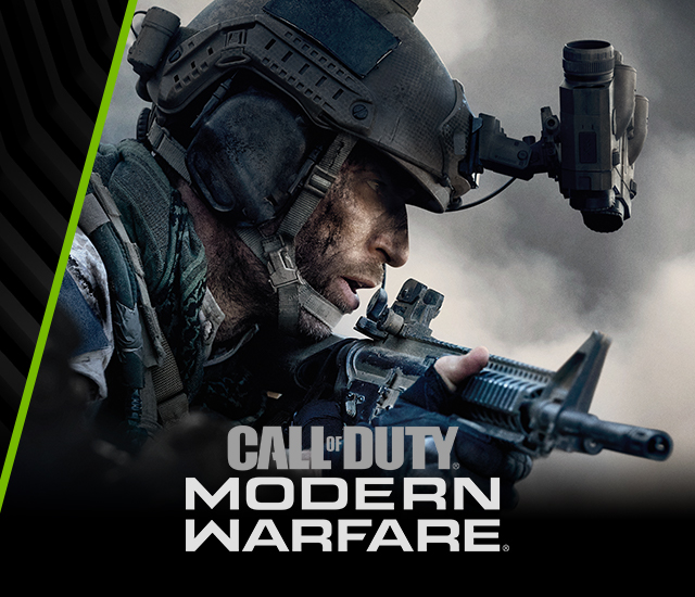 NVIDIA RTX Call of DUTY: Modern Warfare
